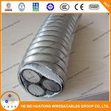 Mc, Xhhw-2, Al-8000, isolation en polyéthylène réticulé, 600 V, l'aluminium