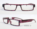 Óculos de leitura sem cura com decoração de cristal