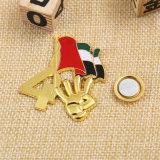 Pinos feitos sob encomenda da lembrança dos UAE do costume da fábrica com ímãs