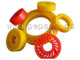 PU keine Zerstampfung-Räder für Papiermaschine, PU-Papier, das Rad für Papierproduktionszweig betätigt