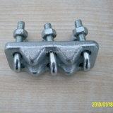 Eletro do aço inoxidável galvanizado forjando o grampo de corda do fio do equipamento