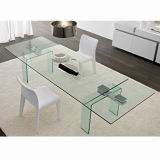 table basse Tempered Glass de 10mm Clear