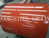 Деревянная конструкция печати цветных чернил зерна лист/деревом стали катушки зажигания
