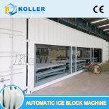 20 tonnes/jour énorme bloc automatique machine à glace et à haute efficacité énergétique Space-Saving