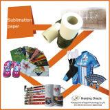 100GSMは乾燥した昇華転写紙ロールサイズ方法衣服のための絶食する