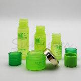 5ml 10ml 15mlの小さいプラスチック装飾的な試験のサンプルびんおよび5gクリーム色の瓶