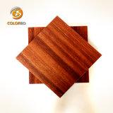Attrayant et durable en bois Micro-Perforated Panneau acoustique