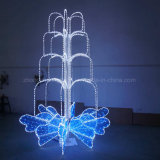 Seil-Licht-Motiv-Licht der Weihnachtsfeiertags-Landschaftsbeleuchtung-2D LED