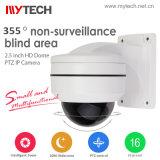 Câmara Dome Pan/Tilt/Zoom - Sistema de Vigilância de Segurança IP 1080P Câmara CCTV