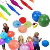 De Ballons van de stempel met Elastiekje behandelt Geassorteerde Kleuren - de pret-Gevulde Luxe Grote Ballons van het Ponsen van de Pret van het Speelgoed van het Neon
