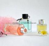 Soem nehmen Hexagon-Form-REEDdiffuser- (zerstäuber)kosmetische Glasflasche mit Schutzkappe an