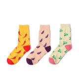 Custom Crazy Tecidos Jacquard de socks colorido meias de moda de cor do homem