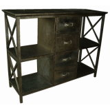 Antique Tin Metal Home Kitchen Metal Furniture