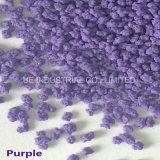 Violet mouchetures de lessive en poudre