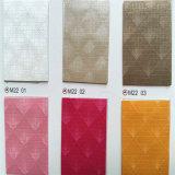 El cuero de la PU del cambio del color de Desings de la manera para el cuaderno cubre Hw-1189