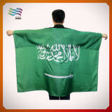 Bandeira do corpo de Jack de união com a capa para Cheering