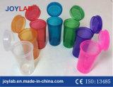 Di plastica schioccare in su le fiale della protezione, farmacia che imballa i contenitori medici della fiala di schiocco
