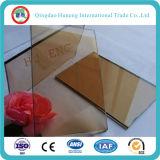vidrio reflexivo del bronce del euro de 5.5m m para la construcción