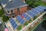Haushalts-Sonnenenergie-Erzeugungs-System der Sonnenkollektor-280W-310W Mono36v