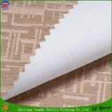 Tissu imperméable à l'eau tissé de rideau en guichet d'arrêt total de franc de polyester pour l'usage d'hôtel