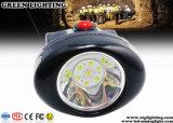10000lux 안전 지하 광산을%s 코드가 없는 LED 광업 모자 램프