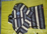 Parte alta do estilo de New-jersey na marca de vestuário usada da luva dos homens das balas camisa longa