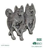 金属の安い鋳造合金動物のバッジ