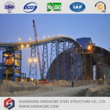 Struttura d'acciaio del trasportatore prefabbricato per la centrale elettrica