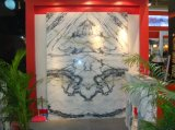 Novo Produto Orchid Jade verde mosaico de mármore polido