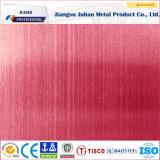 Plaque matérielle d'acier inoxydable de couleur en métal 316decorative chaud de la vente 201