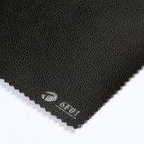 Cuir en PVC noir