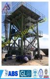 Funil móvel da prova da poeira do cimento da indústria do Eco-Funil