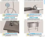 Nueva bañera del baño de Veterinarywash del animal doméstico del diseño