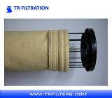 Высокотемпературный упорный цедильный мешок для носка фильтра избавления PTFE газа Fule