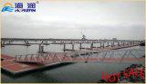 Plataforma galvanizada alta cantidad el pontón de flotación de /Water del marco de acero