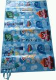 Stuoia promozionale di picnic laminata BOPP tessuta pp con la maniglia