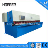 Máquina do CNC para o aço QC12-4X3200 E21 do metal de folha da estaca