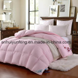 Comforter cinzento branco de venda do Quilt/do Duvet/do ganso da boa qualidade o melhor