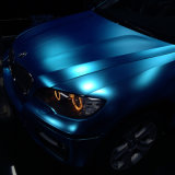 1.52m*20m selbstklebendes MessingSilve wasserdichtes Luftblase freies Belüftung-Vinyl, das MattChome Auto-Verpackung einwickelt
