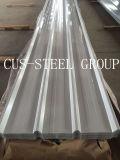 Placa de telhadura de aço Prepainted do perfil da caixa/folha trapezoidalmente da telhadura do metal