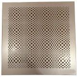 Feuillet en aluminium perforé à motifs 3D pour les yeux et la décoration