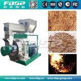La biomasa de aserrín de madera de la quema de planta de pélets