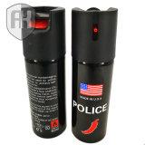 spray au poivre 60ml pour la protection ou la police personnelle