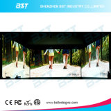 P6.25 экран дисплея напольной кривого арендный СИД