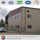 Edificio de almacenamiento Sinoacme armazón de metal con la oficina de administración