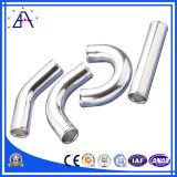 Perfil de alumínio do ISO parcialmente circularmente