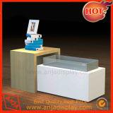 Mobilia di legno della visualizzazione del Socle del posto adatto degli accessori/contatore di legno della visualizzazione