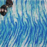 زرقاء [أزو] حرّة طباعة فصل صيف شال لأنّ [فشيون كّسّوري] نساء [سكرف]