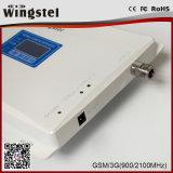Amplificateur mobile de signal de l'Inde GSM/WCDMA 900/2100MHz