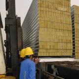 El panel de emparedado de las lanas de cristal con el aislante termal para el edificio